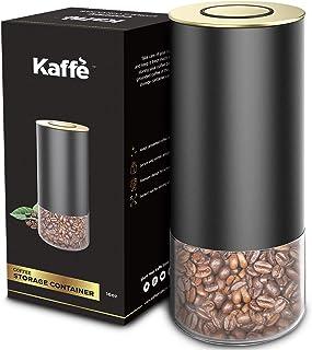 Kaffe Boîte à café en verre avec couvercle hermétique 473 ml