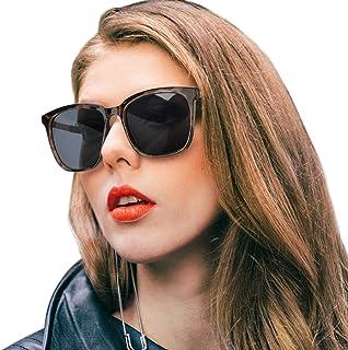 SIPHEW Womens Mirrored Sunglasses Polarized-Fashion...