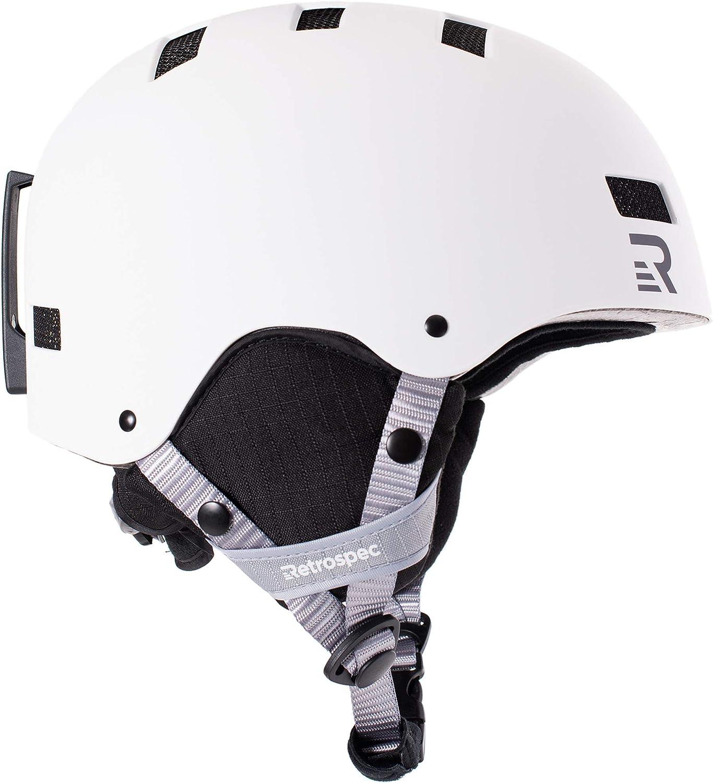 Retrospec Traverse H1 2in1 Congreenible Helmet with 10 Vents