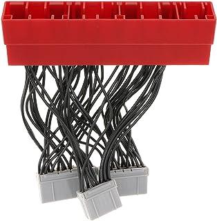Homyl Adaptador de chicote de conversão OBD 2 para OBD 1 ECU para