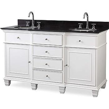 48 Inch Bath Vanity, 64 Antique White Beckham Bathroom Sink Vanity Model Cf 3882w Aw 64 Amazon Com