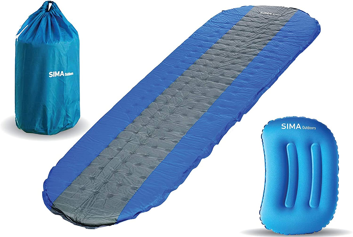 Rapid rise SIMA Outdoors Courier shipping free Sleeping Pad - #1 Inflating The Self