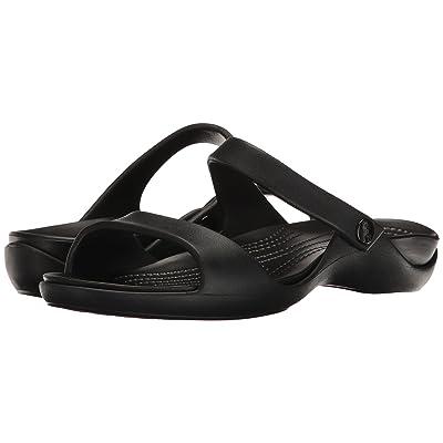 Crocs Cleo V (Black/Black) Women