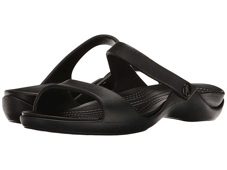 Crocs Cleo V (Black/Black) Women