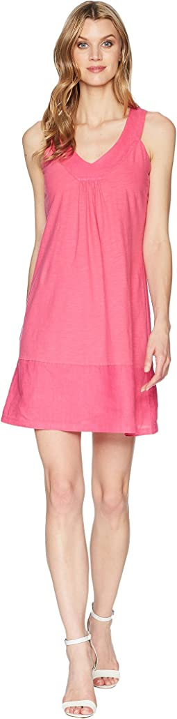 Tommy Bahama Arden Sleeveless Flounce Dress
