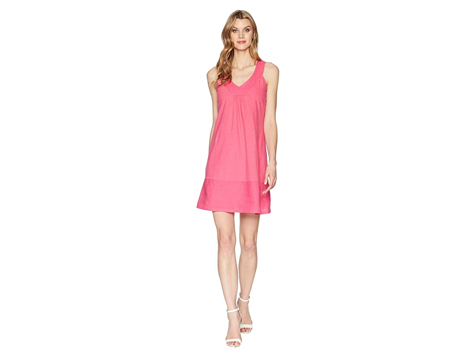 Tommy Bahama Arden Sleeveless Flounce Dress (Bright Blush) Women