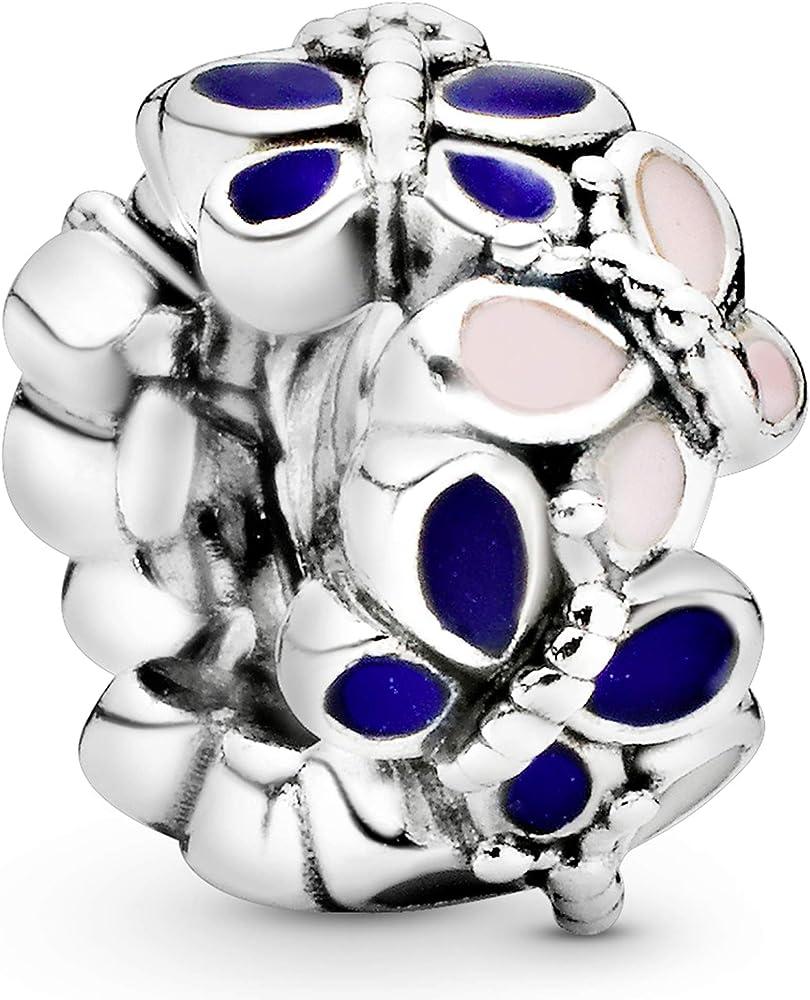 Pandora ,bead charm,ciondolo per donna,in  argento 797870ENMX