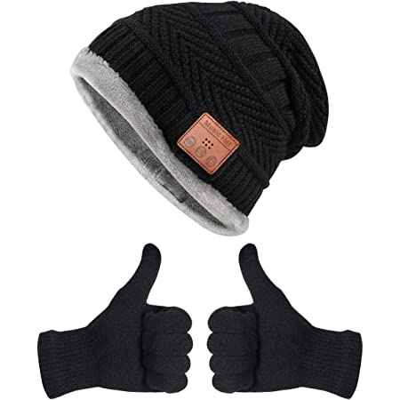 Bluetooth Beanie Hat Gifts for Men,V5.0 Beanie Hat Tech Gift for Him/Dad/Teen