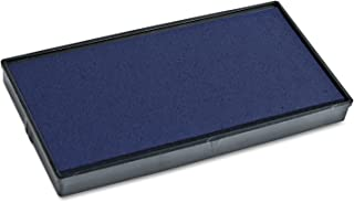 COSCO 2000 Plus Replacement Ink Pad for Printer P40 and Dual Pad Printer P40, Blue (COS065472)