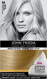 John Frieda Precision Foam Colour Light Ash Blonde 9A