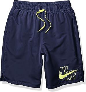 "Nike Men's Logo Solid Lap 9"" Volley Short Swim Trunk"