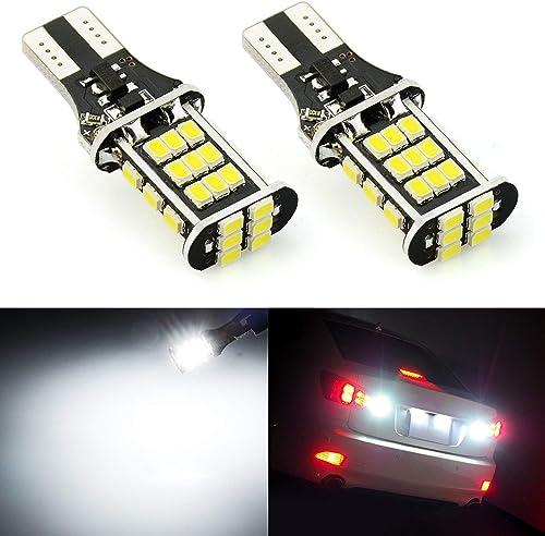 T15 921 3020SMD White LED Backup Reverse Light Bulbs For Chevy GMC Ford Trucks