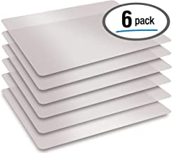 Extra Thick Flexible Frosted Clear Plastic Cutting Mats, 12