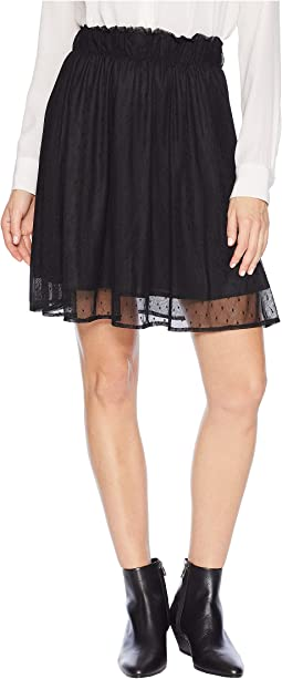 Kylah Swiss Dot Skirt