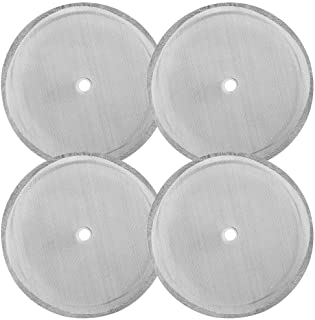 4 Pack French Press Filter Screen, SourceTon 4 Inch Stainless Steel Mesh Replacements for 1000 ml / 34 oz / 8 Cup French P...