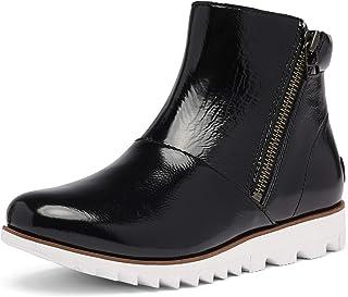 Sorel Women's Harlow Zip Boot - Rain - Waterproof - Black - Size