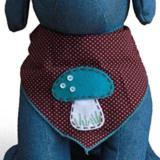 Tail Trends Dog Bandanas for Every Dog Occasion Summer Spring Nature Handmade Appliques - 100% Cotton