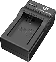 LP NP-FW50 Battery Charger, Compatible with Sony Alpha A3000, A5000, A5100, A6000, A6400, A6300, A6500, A7, A7II, A7RII, RX10 NEX-3/5/7 Series & More