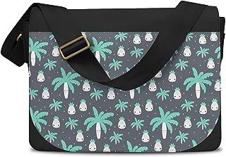 Cute Kawaii Palm Trees Messenger Bag - One Size Messenger Bag