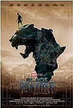 KodiakPrints Black Panther (Africa Ver. F) Movie Poster Size 24