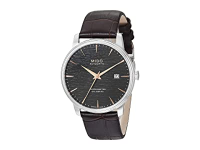 Mido Baroncelli Chronometer Silicon M0274081606100 (Black) Watches