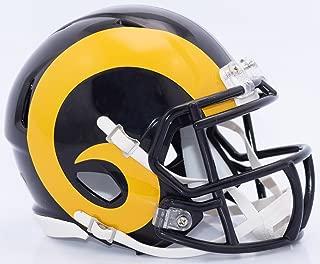 Riddell LOS ANGELES RAMS NFL SPEED Full Size REPLICA Football Helmet COLOR RUSH