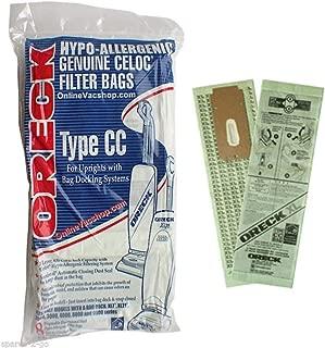 Oreck Hypo Allergenic Genuine Celoc Filter Bags, Type CC