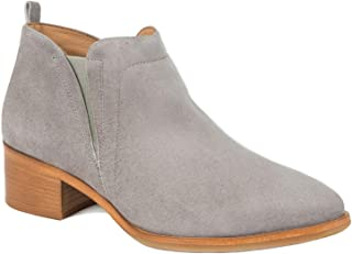 Italeau Women's Zarah Italian Leather Handcrafted Waterproof Ankle Bootie