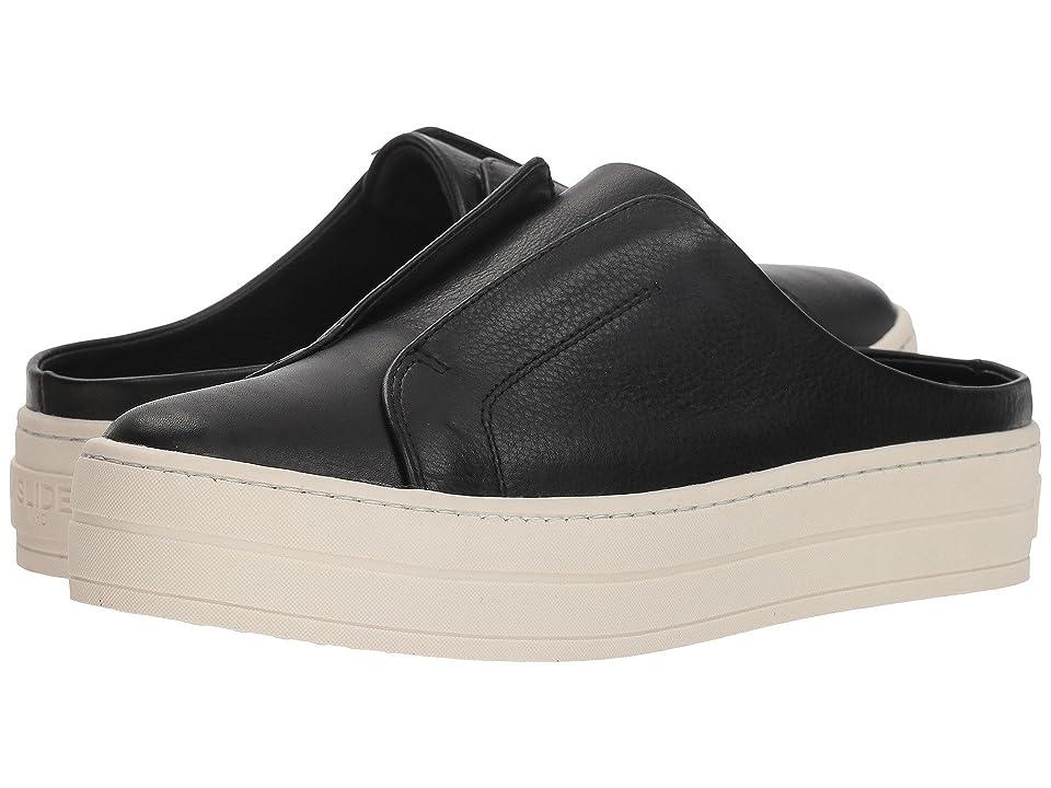 J/Slides Hara (Black Leather) Women