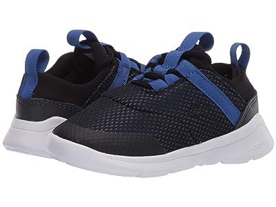 Lacoste Kids LT Dash 120 1 SUI (Toddler/Little Kid) (Black/Blue) Kid