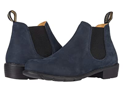Blundstone Ankle Boot 1975 (Navy Nubuck) Women