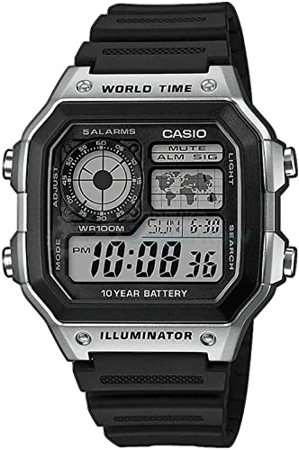 Casio Watch AE-1200WH-1CVEF
