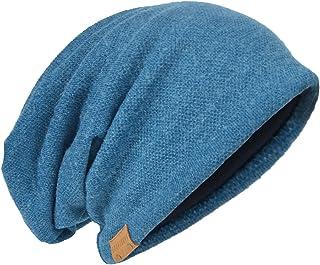 HISSHE Uomo protezione lavorata a maglia