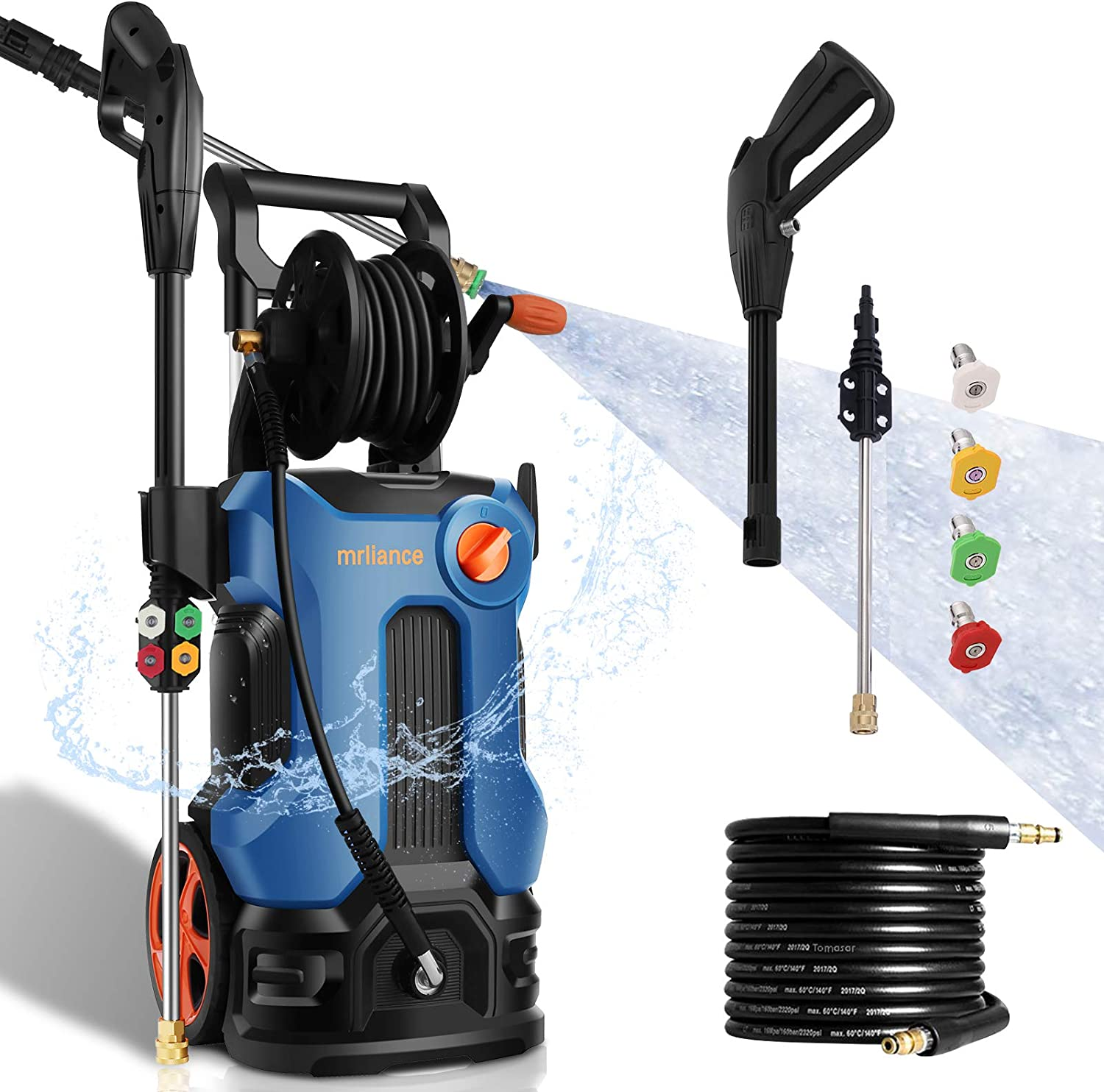 Mrliance Electric Power Washer 3800PSI