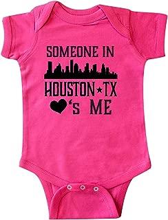 inktastic Houston Texas Someone Loves Me Skyline Infant Creeper