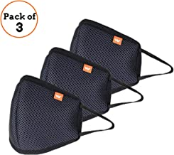 Wildcraft HypaShield W95 6 Layer Anti-Pollution reusable outdoor protection mask(Set of 3)