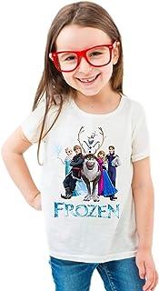 FMstyles - Disney Frozen White Kids Unisex Tshirt - FMS635-9-11 Years