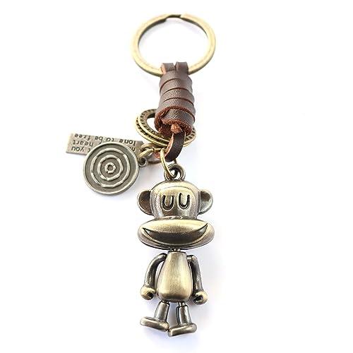 AuPra Funny Monkey KeyRing Xmas Gift  afd9cb20b919