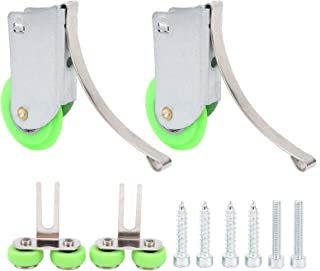البكرة الخضراء المقعرة - محدبة البكرات صارمة لمراقبة الجودة مع عامل أمان عالي للأبواب والنوافذ المنزلقة