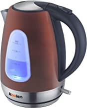 Koolen- Electric Kettle Stainless Wine 1.7L Model 17209, Red, Stainless Steel