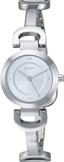 DKNY Women's Quartz Watch analog Display and Stainless Steel Strap, NY2748
