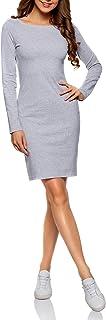oodji Ultra Mujer Vestido de Punto Ajustado