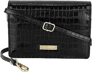 LA Enviro Zumi Women's Crossbody Shoulder Bag, Black