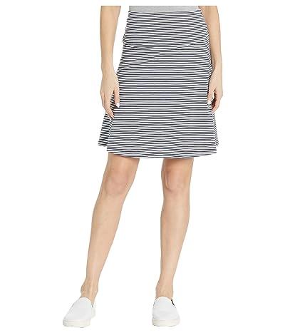Toad&Co Chaka Skirt (True Navy Stripe) Women