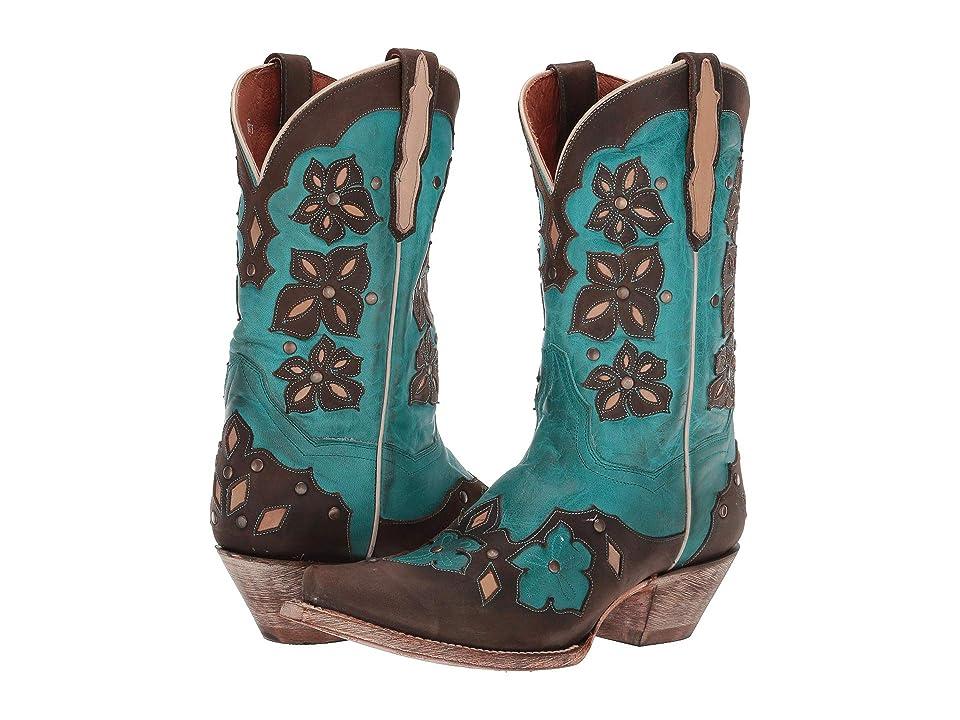 Dan Post Laurel (Turquoise Leather) Cowboy Boots