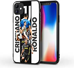 """iPhone 11 Case,Sports Silicone Bumper Frame and PC Back Cover Cases for iPhone 11 6.1"""" (C-Ronaldo)"""