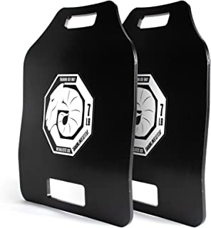 TRAINLIKEFIGHT Ultimate Triple Curve Weighted Plates 7lbs (14lbs Pair) - Juego de Placas lastradas de Peso de 3,17kg (6,34kg Total Pareja), sin Chaleco