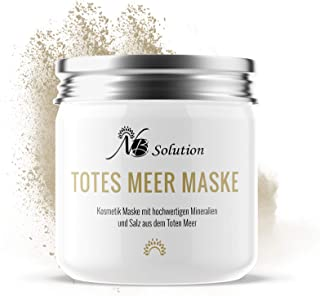 Totes Meer Maske Gesichtsmaske - Dead Sea Mud Mask Für Gesicht Und Körper – Beauty Mask Totes Meer Schlamm