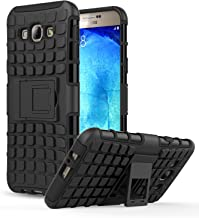 Galaxy A8 Case - MoKo Heavy Duty Rugged Dual Layer Armor with Kickstand Protective Cover for Samsung Galaxy A8 5.7 Inch 2015 Smartphone, BLACK (Not Fit Galaxy A Previous Generations)