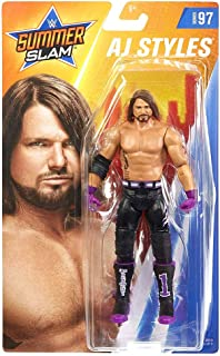 WWE SummerSlam AJ Styles Action Figure